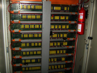 Fire Suppression For Electrical Panels