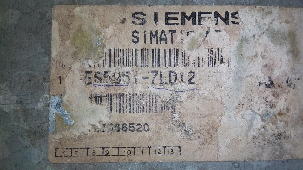 SIEMENS S5 CPU