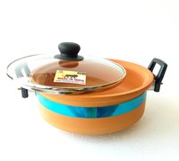 Terracotta Handi Glass Lid