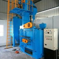 Double Door Type Shot Blasting Machine
