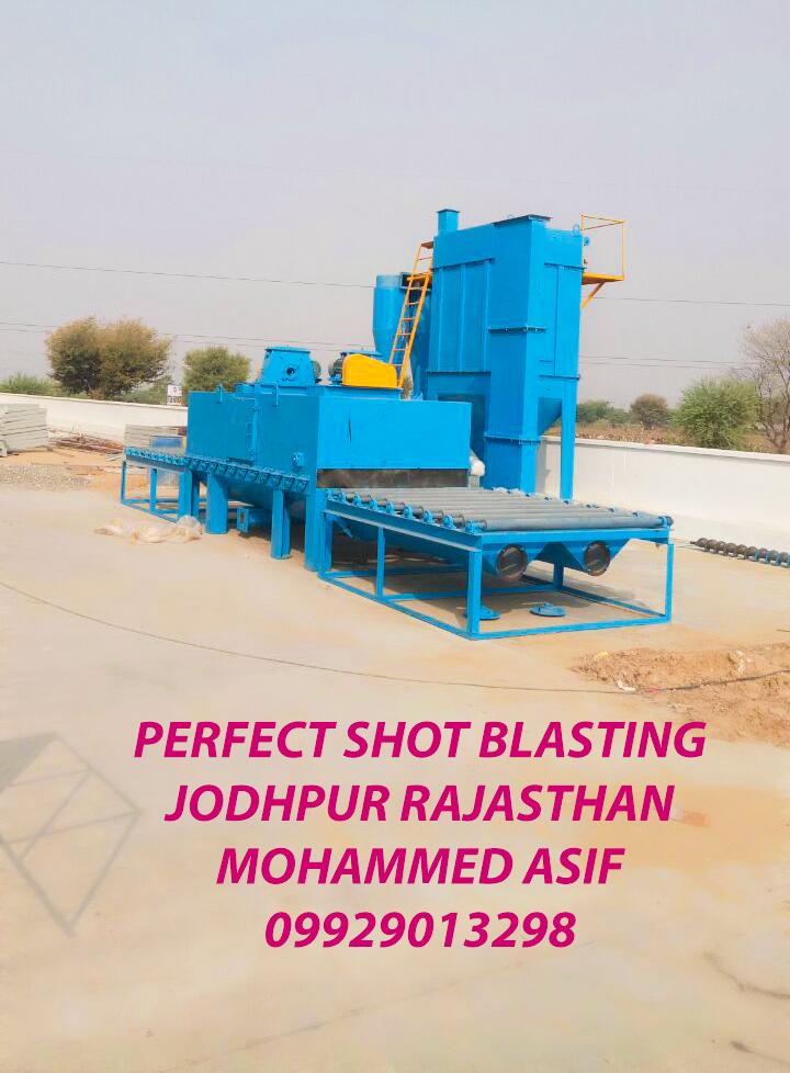 Shot Blasting for Stone Texturing Machine