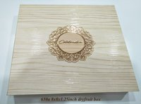 Wooden Chocolate Gift Box