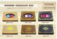 Wooden chocolate Box