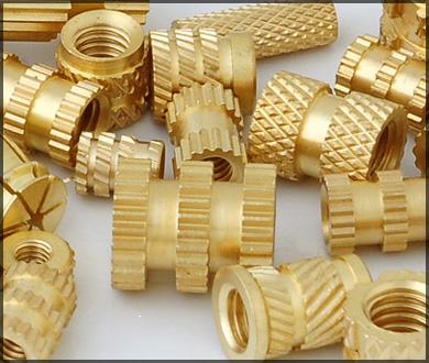Brass Inserts For Plastics
