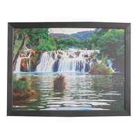 Wooden Coloured Photo Frame
