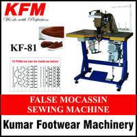 False Mocassin Sewing Machine