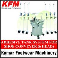 Shoe Conveyor Adhesive Tank System