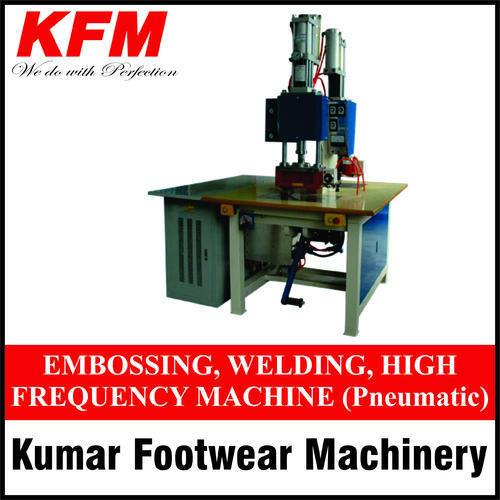 Pneumatic Embossing High Frequency Welding Machine