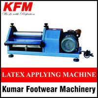 Latex Applying Machine