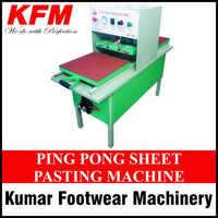 Ping Pong Sheet Pasting Machine