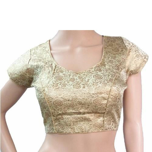 Ladies Jacquard Designer Saree Blouse