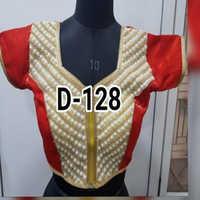 Ladies Moti Work Fashionable Blouse
