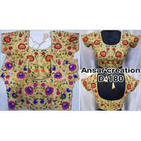 Ladies Thread Embriodery Fashionable Blouse