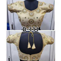 Ladies Mirror Party Wear Blouse