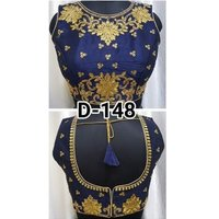 Ladies Handmade Embroidery Party Wear Blouse