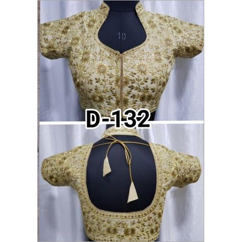 Ladies Fine Embroidered Designer Blouse
