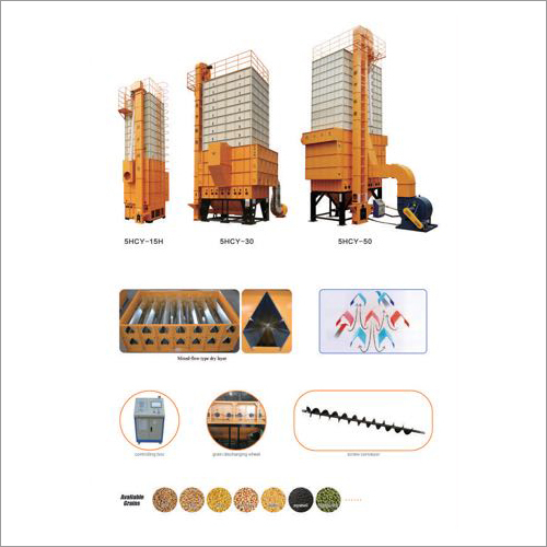Mixed Flow Type Grain Dryer