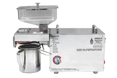 Almond  Oil Extraction Machine Certifications: An Iso 9001:2015