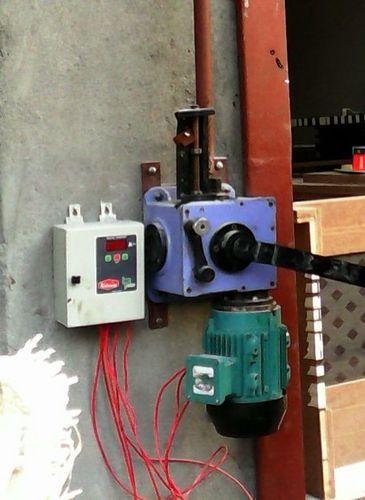 Motorisiertes Rollen-Blendenverschluss-Getriebe