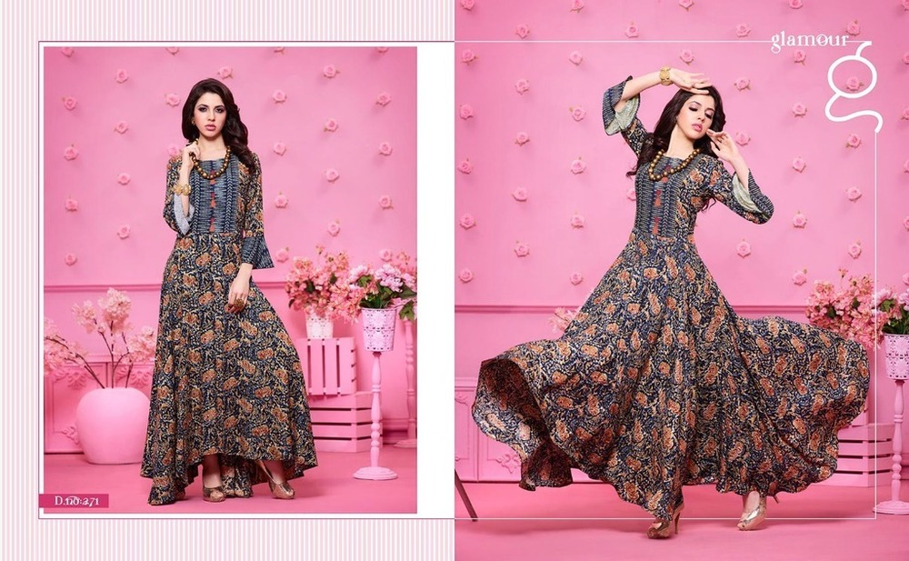Fancy Gown Kurtis