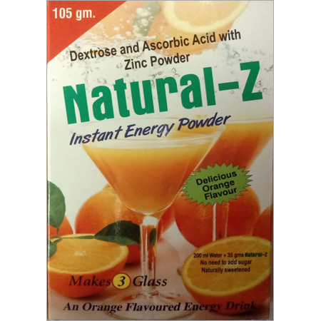 Natural Energy Drink Powder