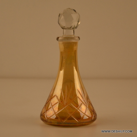 YELLOW REED DIFFUSER,DECOR PERFUME BOTTLE, SCENT BOTTLE,FRAGRANCE BOTTLE,COLOR AMBER DECANTER