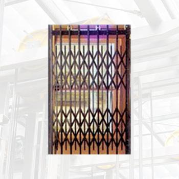 Elevator Collapsible Door