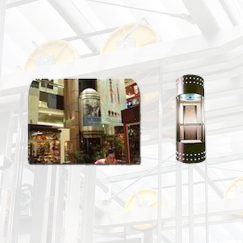 Glass Elevators for Shopping Malls