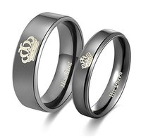 His Queen Her King Couple Collection Ring