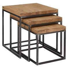 Square Pipe Nesting Tables