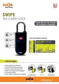 Swipe TSA Card Lock