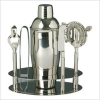 Stainless Steel Bar Set