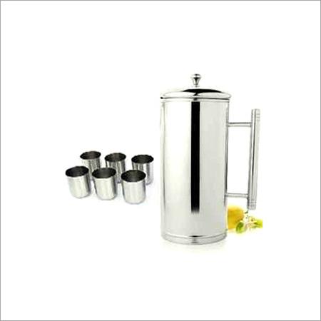 Steel Water Jug Set
