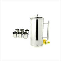 Steel Water Jug Set