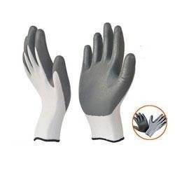 Safety Gloves White Black