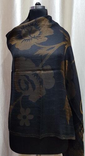 Fine Wool Reversible Zari Jacqaurd