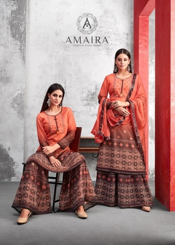 STYLISH PALZZO SALWAR SUITS ( KAERMA )