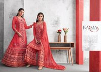NEW STYLISH PLAZZO SALWAR SUITS