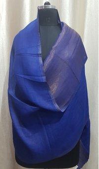 Fine Wool Reversible Zari Stoles