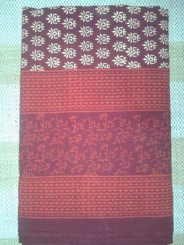 Bagru Print Cotton Bedsheet