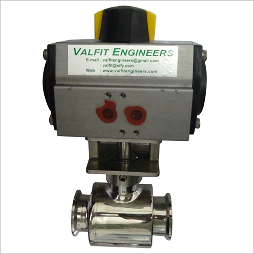 Ball Valve (Tc Ball Valve With Pneumatic Actuator)