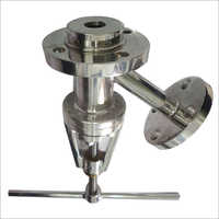 Flush Bottom Valve (Y Type Flush Bottom Valve With Handle)