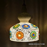 SPLENDID MOSAIC WALL HANGING WITH FITTING