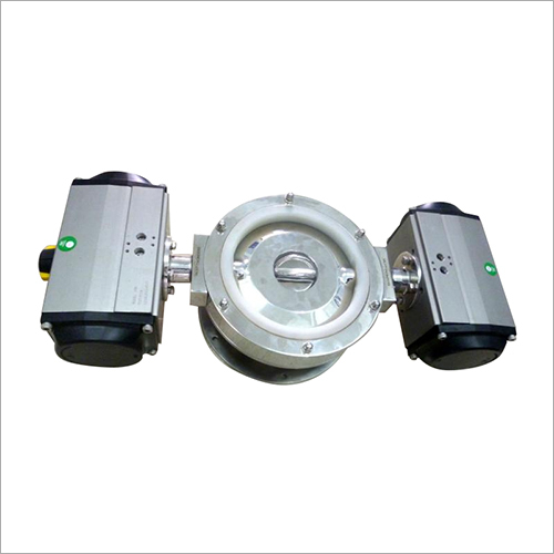 Dosing Valve (Rotary Vane Valve With Pneumatic Actuator)