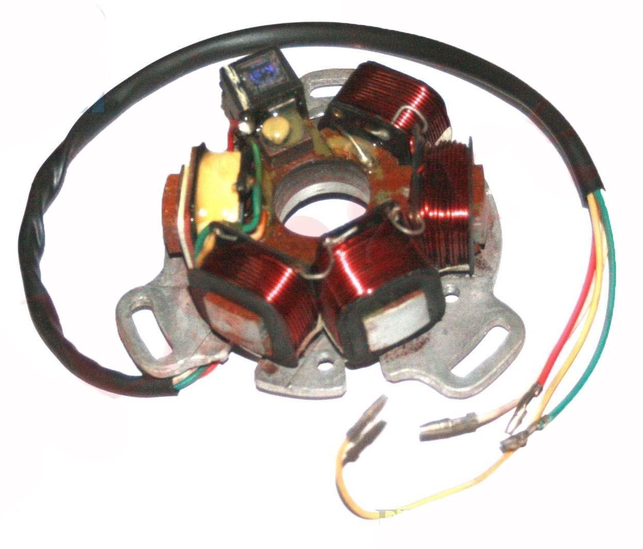 Fabulous Lambretta Flywheel Ignition Kit With Wiring 12V Large Cone Li 1 2 3 Wiring 101 Vihapipaaccommodationcom