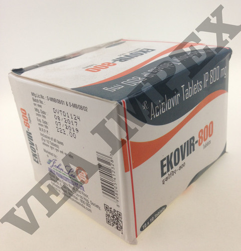 Ekovir 800 mg Tablets