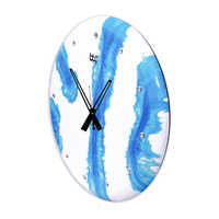 Blue Antique Look Handmade Wall Clock