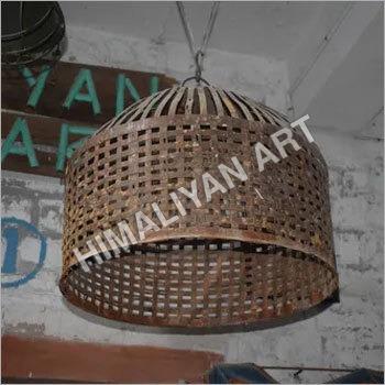 IRON CAGE CUM LAMP