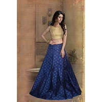Ladies Blue Designer Lehengas