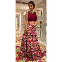 Ladies Pink Lehenga Choli